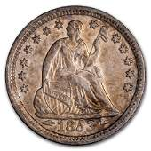 1853 Liberty Seated Half Dime w/Arrows AU