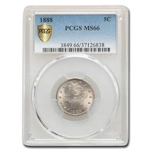 1888 Liberty Nickel MS-66 PCGS