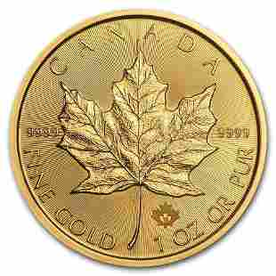 2019 Canada 1 oz Gold Maple Leaf BU