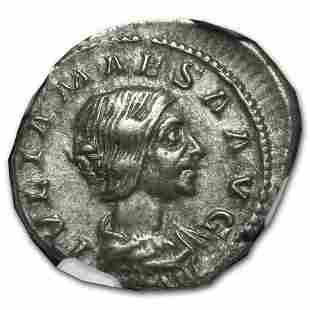 Roman Silver Denarius Julia Maesa (218-224/5 AD) CH XF