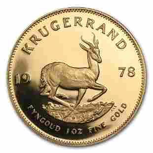 1978 South Africa 1 oz Proof Gold Krugerrand