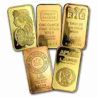 1 oz Gold Bar - Secondary Market