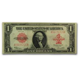 1923 $1.00 United States Note Red Seal VF+ (Fr#40)