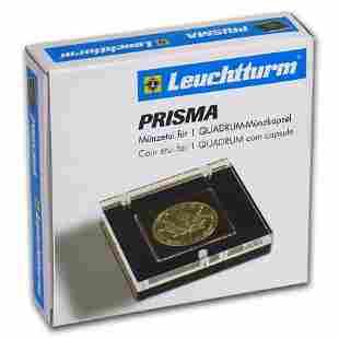 Prisma Coin Display Box w/Acrylic Lid for Quadrum
