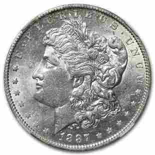 1887-O Morgan Dollar AU