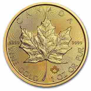 2020 Canadian 1 oz Gold Maple Leaf Coin BU