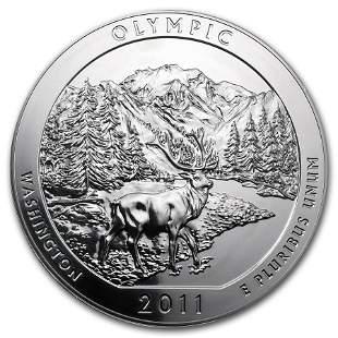 2011 5 oz Silver ATB Olympic National Park, WA