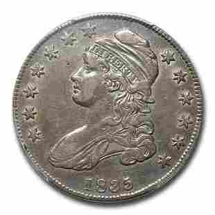 1835 Bust Half Dollar XF-45 PCGS
