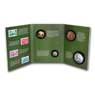 2014 Franklin D. Roosevelt Coin & Chronicles Set