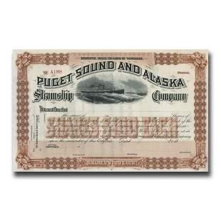 Puget Sound & Alaska Steamship Company Stock
