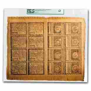 1780 $1-$20 Rhode Isl 7/2/80 CU-62 PCGS (Fr#RI-282-289)