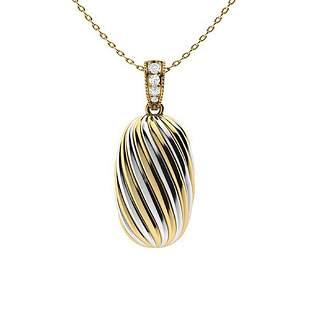 0.07 ctw Diamond Necklace 14K Yellow Gold