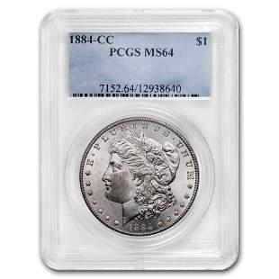 1884-CC Morgan Dollar MS-64 PCGS