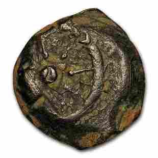 Judaea Widow's Mite XF (103-76 BC)