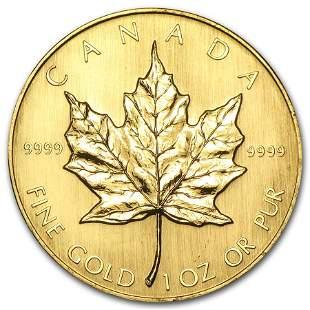 1984 Canada 1 oz Gold Maple Leaf BU