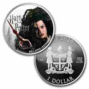 2020 Fiji 1 oz Ag Harry Potter Characters: Bellatrix