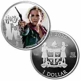 2020 Fiji 1 oz Silver Harry Potter Characters: Hermione