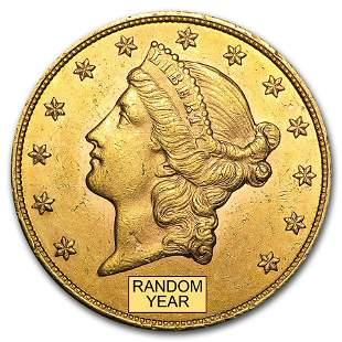 $20 Liberty Gold Double Eagle AU (Random Year)
