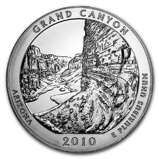 2010 5 oz Silver ATB Grand Canyon National Park, AZ