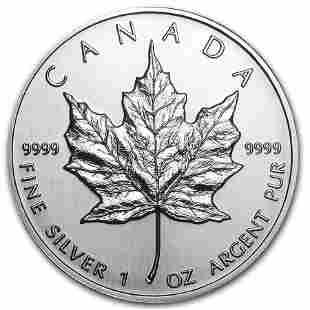 1994 Canada 1 oz Silver Maple Leaf BU