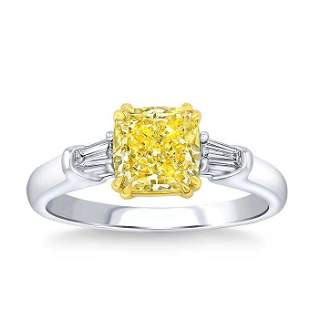 Natural 2.16 CT Diamond Bridal Ring 18K White Gold