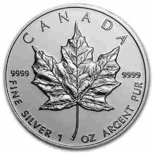 2009 Canada 1 oz Silver Maple Leaf BU