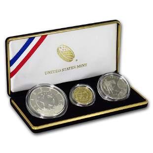 2015 3-Coin U.S. Marshals Commemorative Proof Set (Box