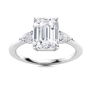 Natural 5.43 CTW Topaz & Diamond Engagement Ring 14K
