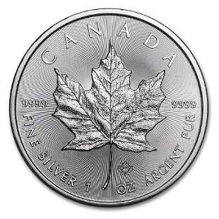 2015 Canada 1 oz Silver Maple Leaf BU
