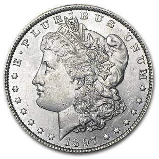 1897 Morgan Dollar BU