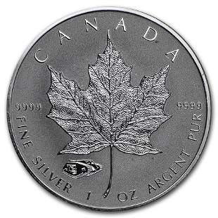 2016 Canada 1 oz Silver Maple Leaf Mark V Tank Privy