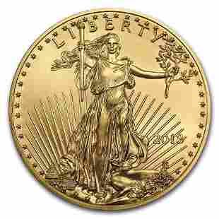 2018 1 oz American Gold Eagle BU