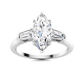 Natural 1.82 CTW Topaz & Diamond Engagement Ring 18K
