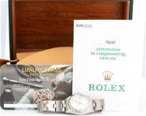 Pre-Owned Rolex Lady Oyster Perpetual Date 79240