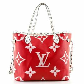 Louis Vuitton Neverfull NM Tote Limited Edition Colored