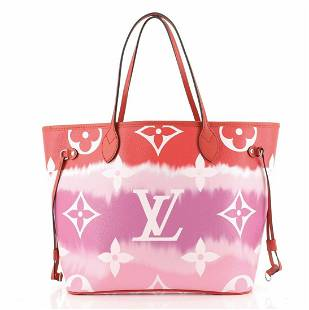 Louis Vuitton Neverfull NM Tote Limited Edition Escale