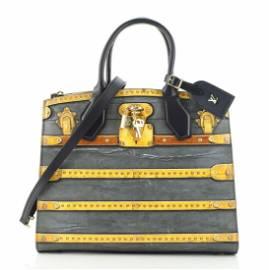 Louis Vuitton City Steamer Handbag Limited Edition Time