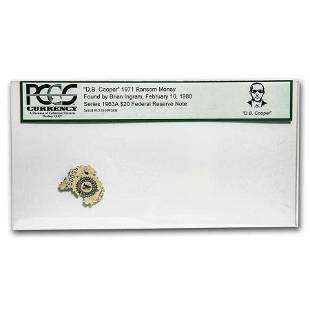 1963-A $20 FRN PCGS D.B. Cooper '71 Ransom Money
