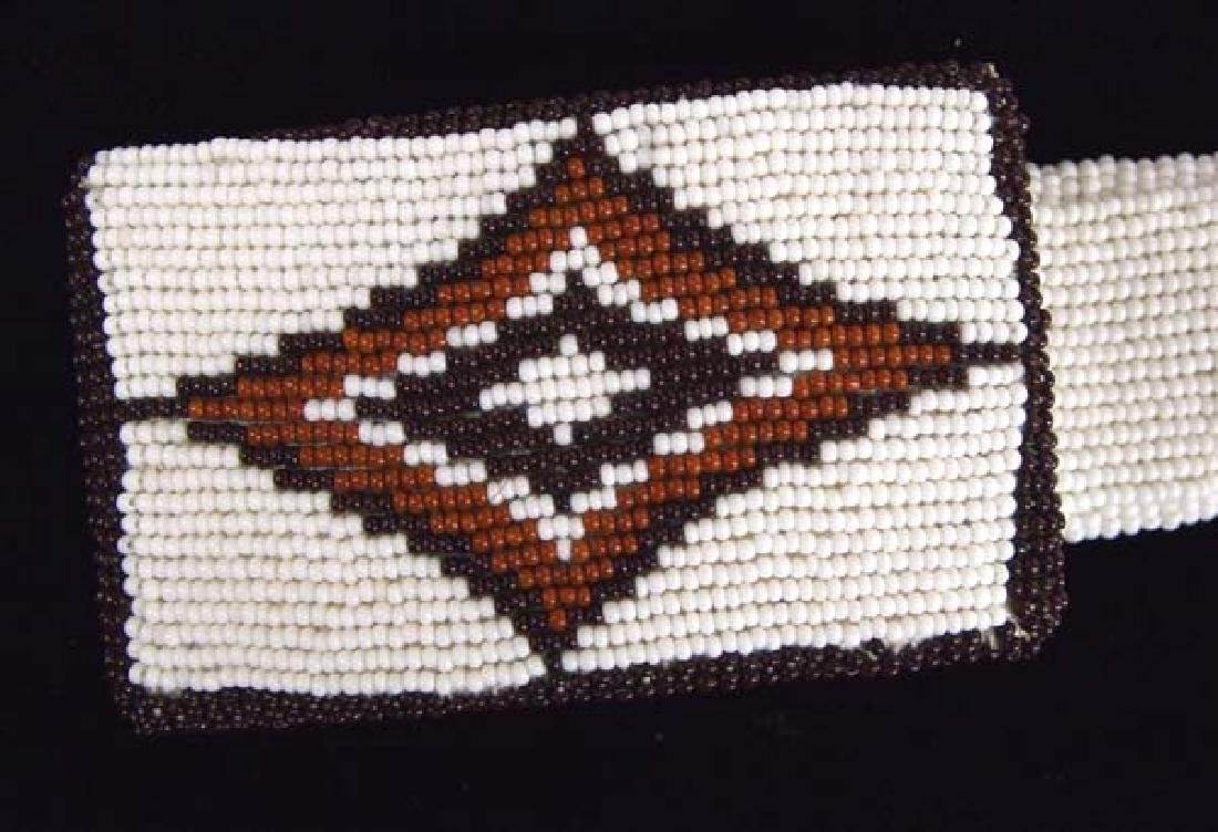 Native American Beaded Belt