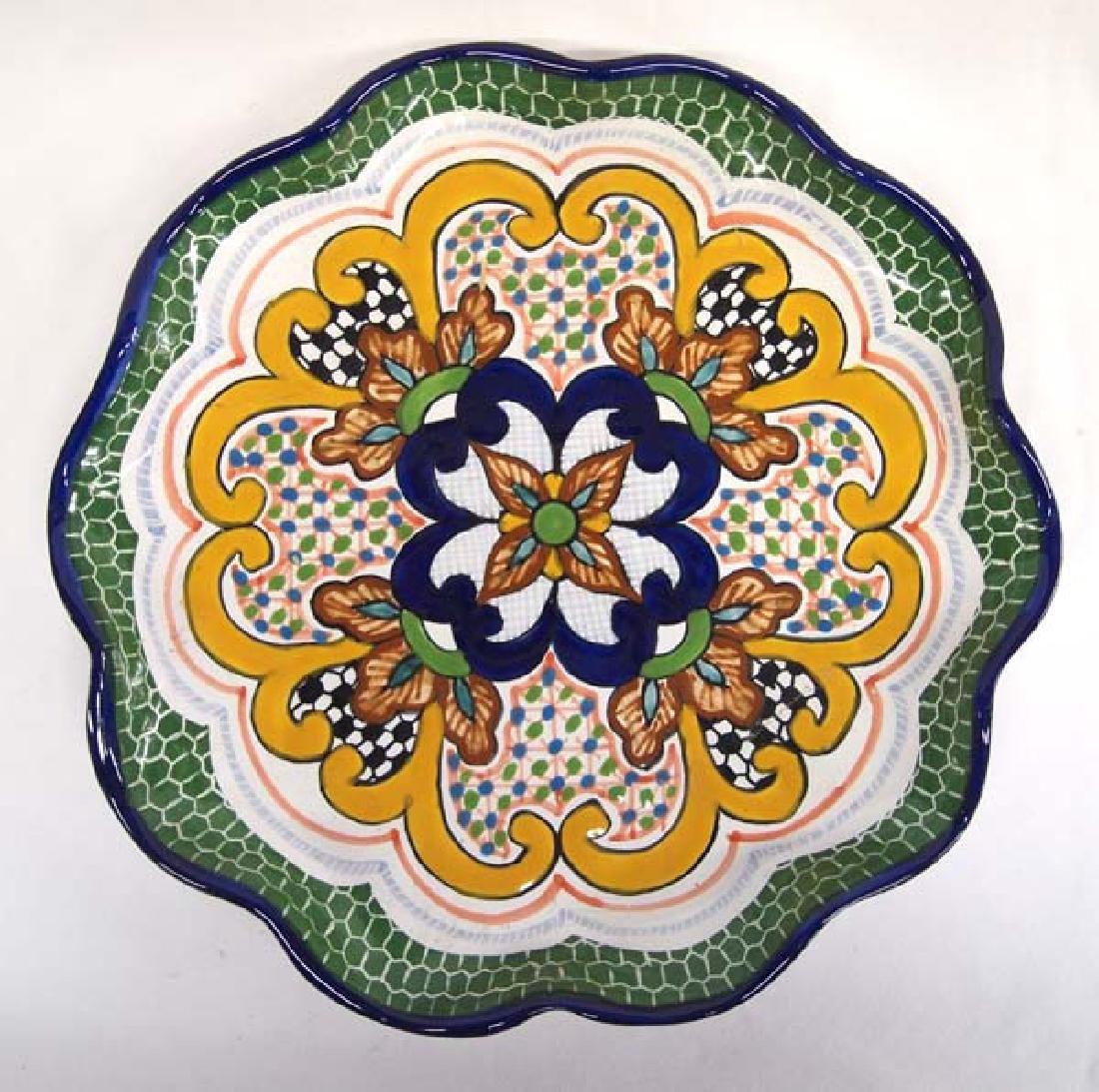 Mexican Talavera Pottery Tray