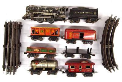 Vintage Marx Stream Line Steam Type Electric Train