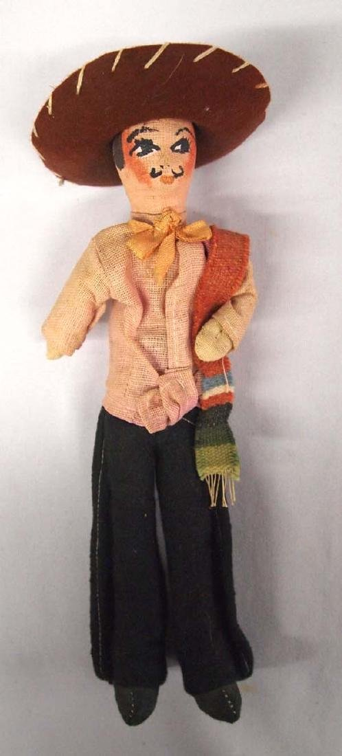 Vintage Mexican Male Doll