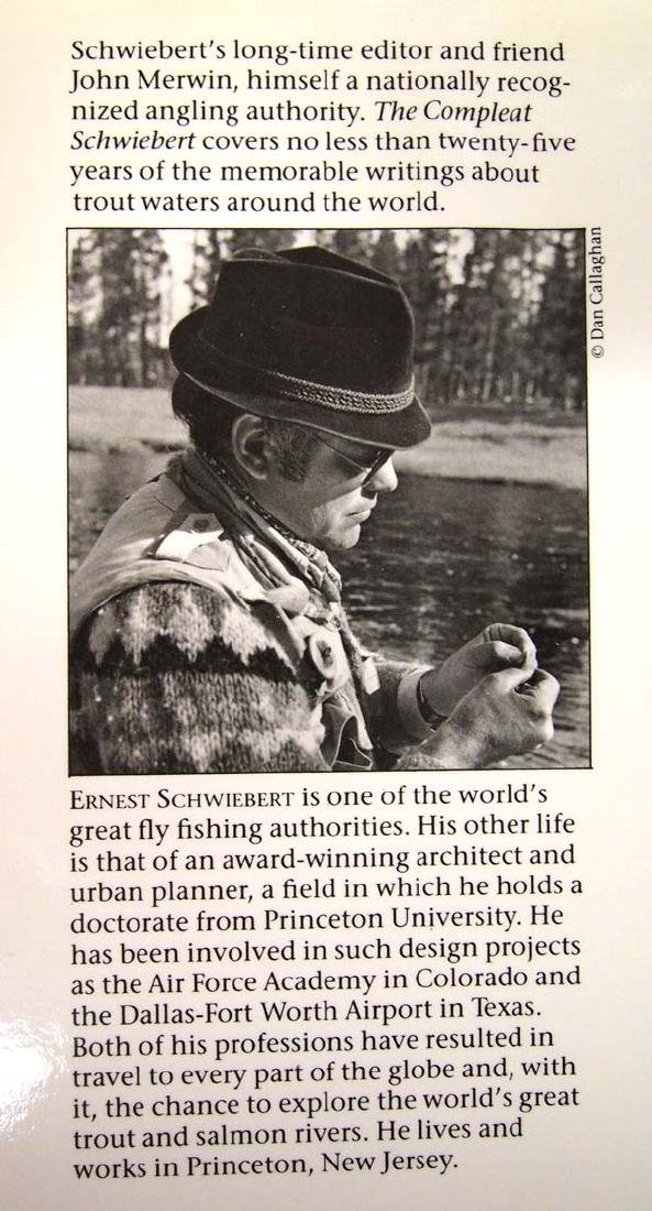 1990 The Compleat Schwiebert, Book on Fishing - 3