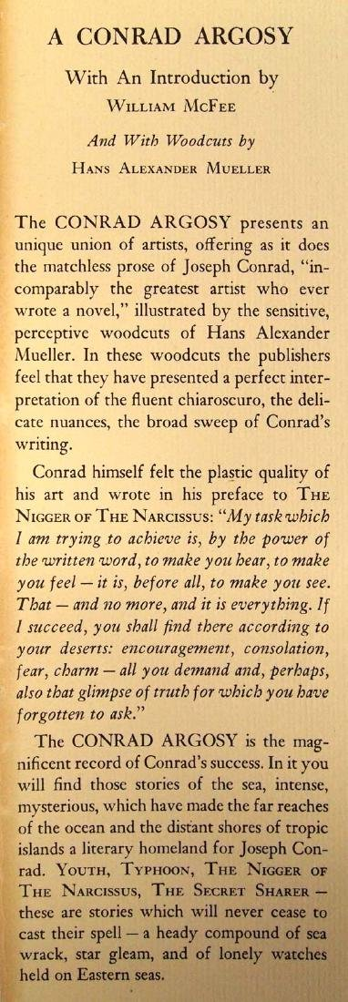 A Conrad Argosy by William McFee, Hardback Book - 2