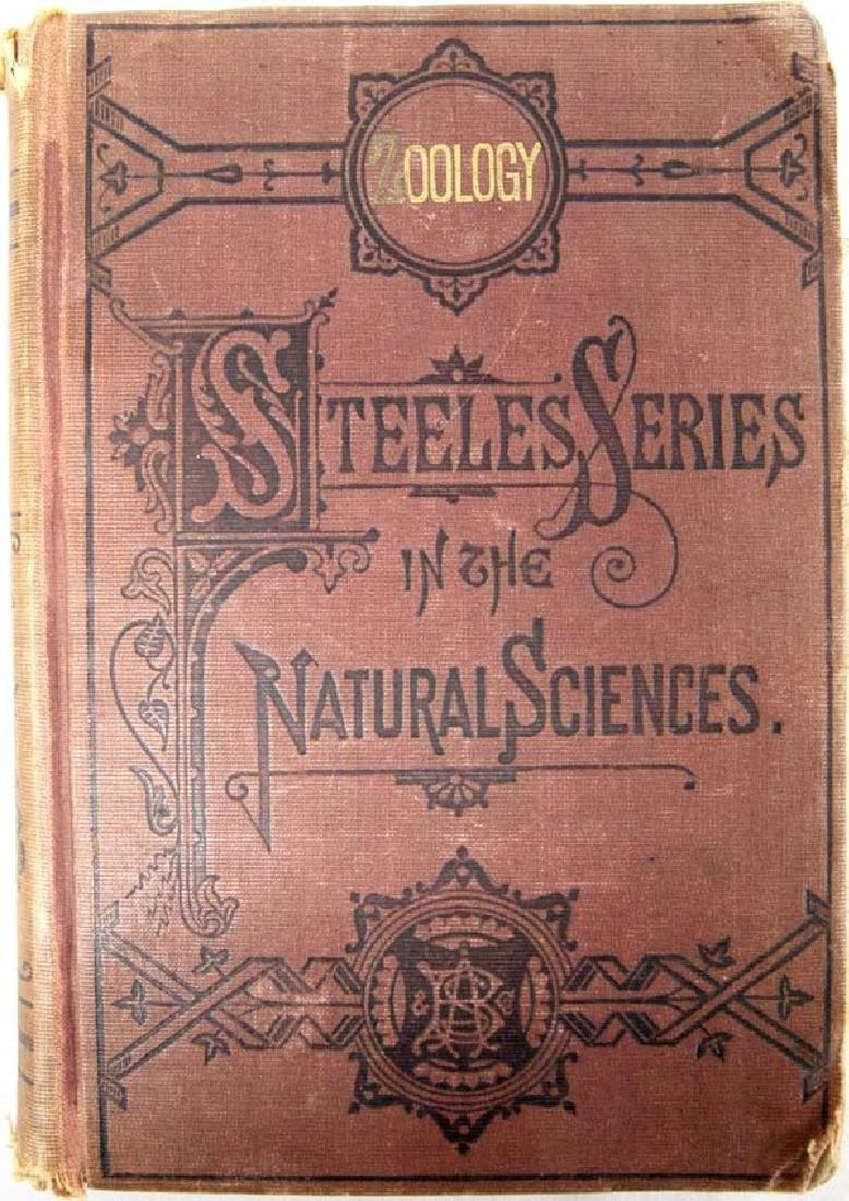 1876 Fourteen Weeks in Zoology by Steele, Book