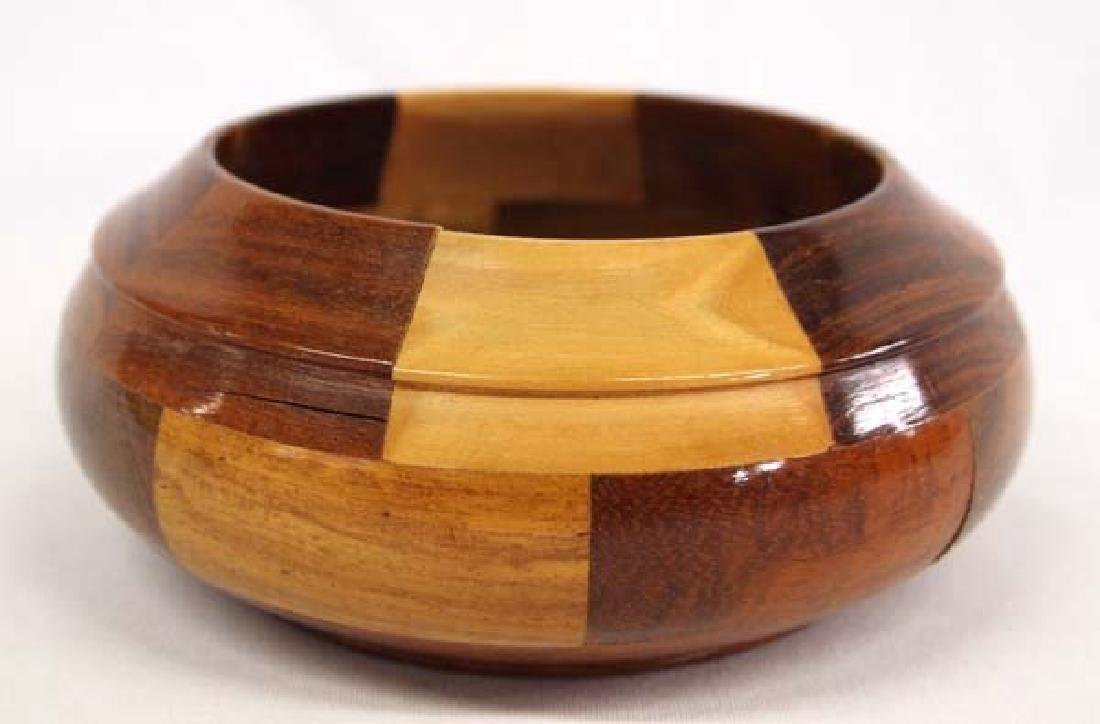 Inlay Wood Bowl