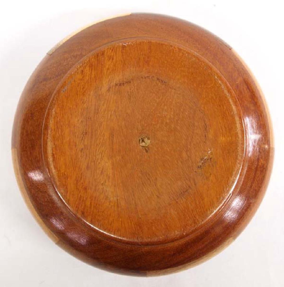 Inlay Wood Bowl - 4
