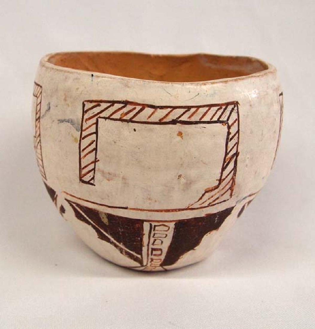 1983 Native American Pottery Jar by Della W.