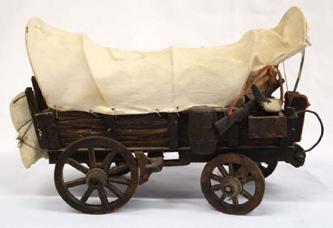 Miniature Conestoga Wagon - 3