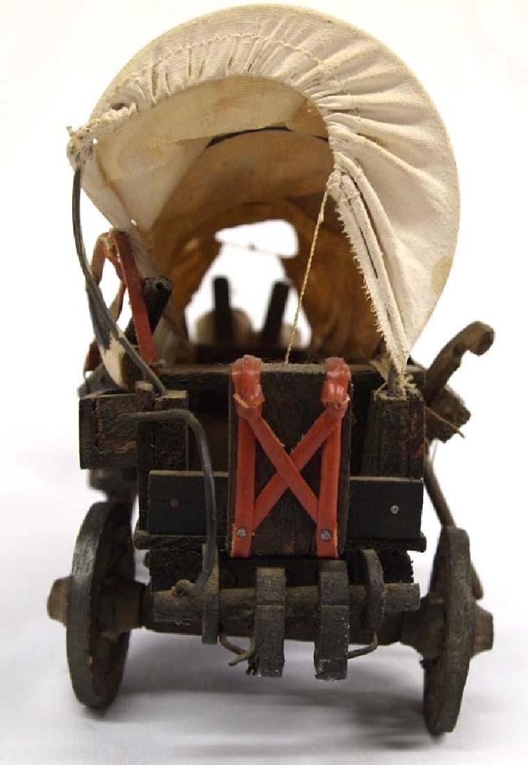 Miniature Conestoga Wagon - 4